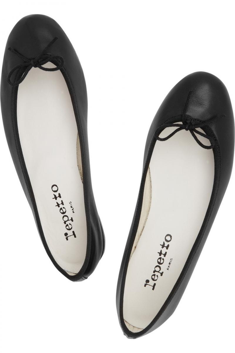 cc0745fc84 Čierne baleríny Repetto 185 €  strieborné baleríny Zara 29